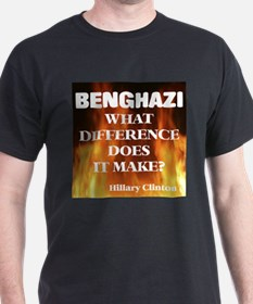 Benghazi What Difference Does It Make? T-Shirt