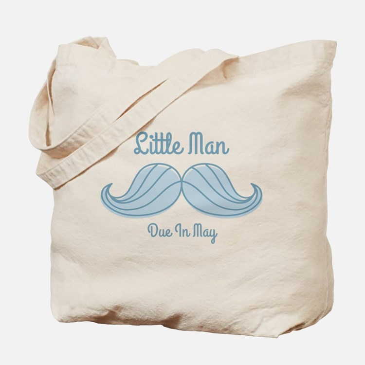 Mustache LM May Tote Bag
