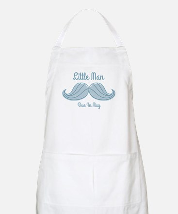 Mustache LM May Apron