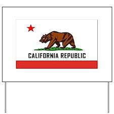 Flag of California Yard Sign