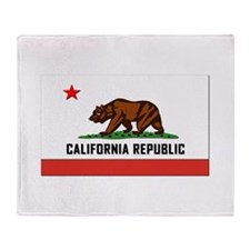 Flag of California Throw Blanket
