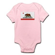 Flag of California Infant Bodysuit
