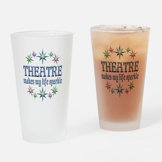 Theatre Sparkles Drinking Glass