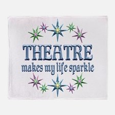 Theatre Sparkles Throw Blanket