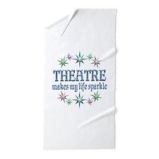 Theatre Sparkles Beach Towel