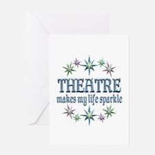 Theatre Sparkles Greeting Card