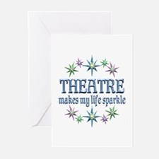 Theatre Sparkles Greeting Cards (Pk of 20)