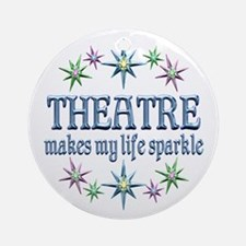 Theatre Sparkles Ornament (Round)