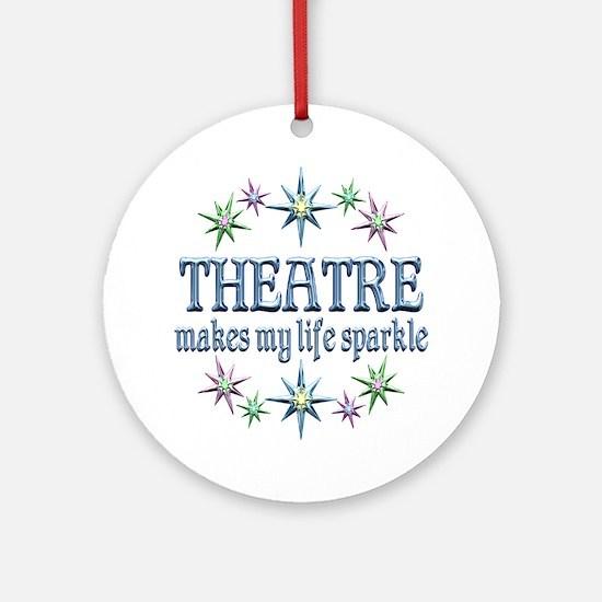 Theatre Sparkles Ornament (Round)