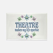 Theatre Sparkles Rectangle Magnet (100 pack)