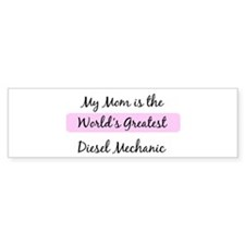 Worlds Greatest Diesel Mechan Bumper Bumper Sticker