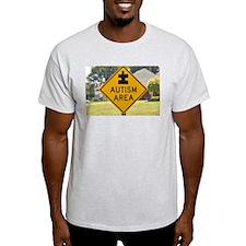 Autism Area T-Shirt