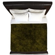 Black And Gold Fabric King Duvet