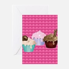 Delicious cupcakes Greeting Cards