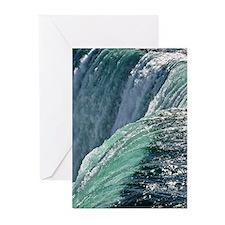 Majestic Niagara Falls Greeting Cards