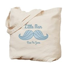 Mustache LM Jun Tote Bag