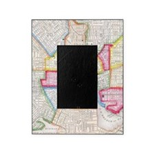 Vintage Map of Downtown Baltimore (1 Picture Frame