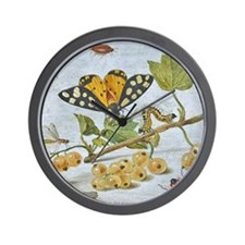 Insects Crawling Wall Clock