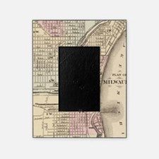 Vintage Map of Milwaukee (1880) Picture Frame