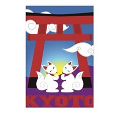 Kyoto Kitsune Shrine Postcards (Package of 8)