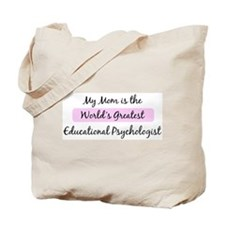 Worlds Greatest Educational P Tote Bag