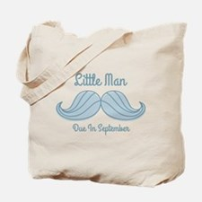 Mustache LM Sep Tote Bag