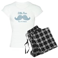 Mustache LM Oct Pajamas