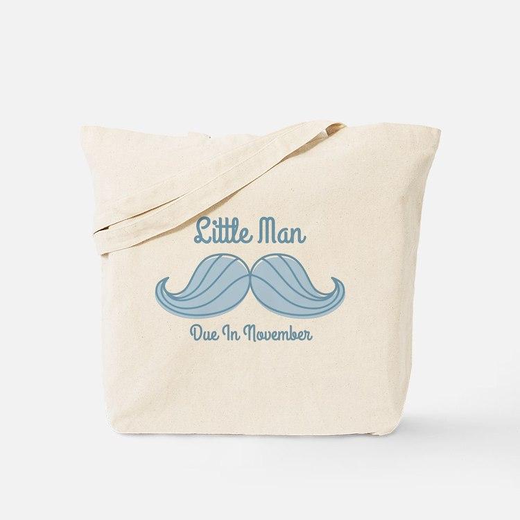 Mustache LM Nov Tote Bag
