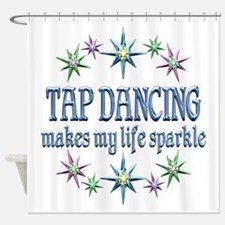 Tap Dancing Sparkles Shower Curtain