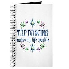Tap Dancing Sparkles Journal