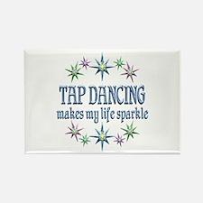 Tap Dancing Sparkles Rectangle Magnet (10 pack)