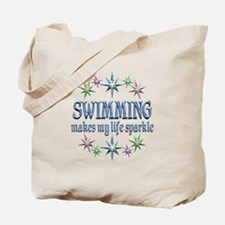 Swimming Sparkles Tote Bag