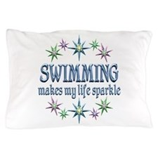 Swimming Sparkles Pillow Case