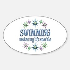 Swimming Sparkles Decal