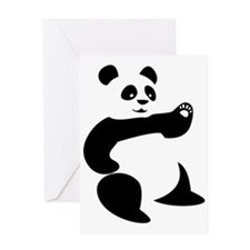 Panda Avatar Greeting Card