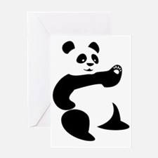 Panda Avatar Greeting Card