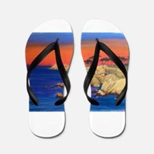 Lovers Point Monterey Flip Flops