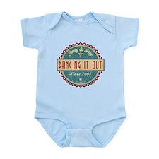 Dancing It Out Since 2005 Infant Bodysuit