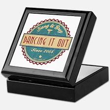 Dancing It Out Since 2005 Keepsake Box