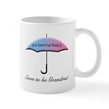 Umbrella Soon To Be Grandma Mugs