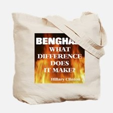 Benghazi What Difference Does It Make? Tote Bag