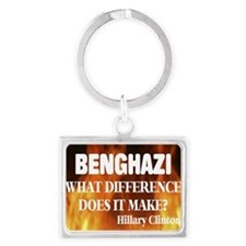 Benghazi What Difference Does It Make? Keychains