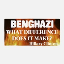 Benghazi What Difference Does It Make? Beach Towel