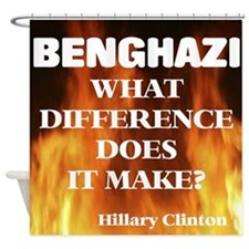 Benghazi What Difference Does It Shower Curtain