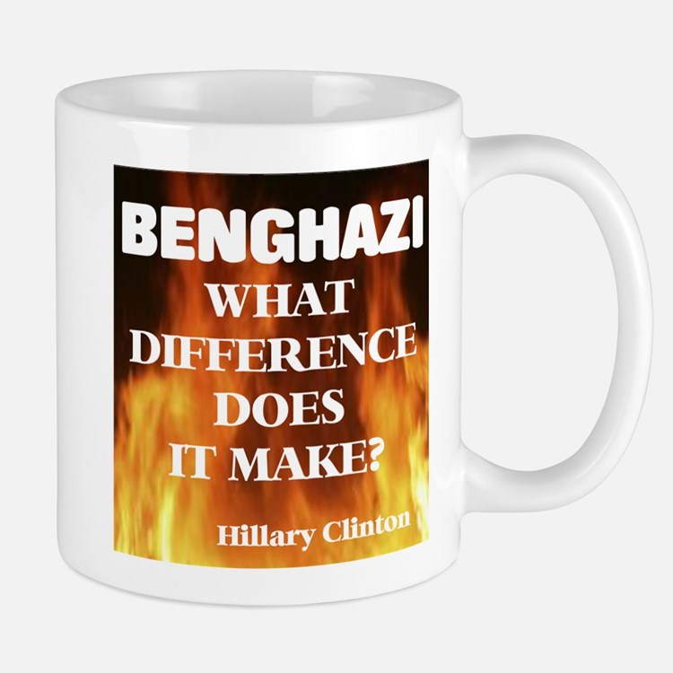 Benghazi What Difference Does It Make? Mugs
