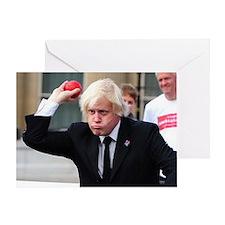 Boris Johnson Greeting Card