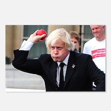 Boris Johnson Postcards (Package of 8)