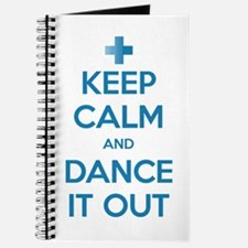 Keep Calm and Dance It Out Journal