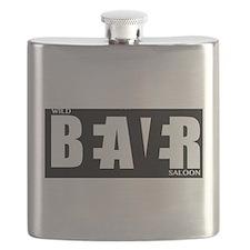 Hidden Beaver Flask