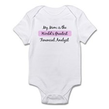 Worlds Greatest Financial Ana Infant Bodysuit